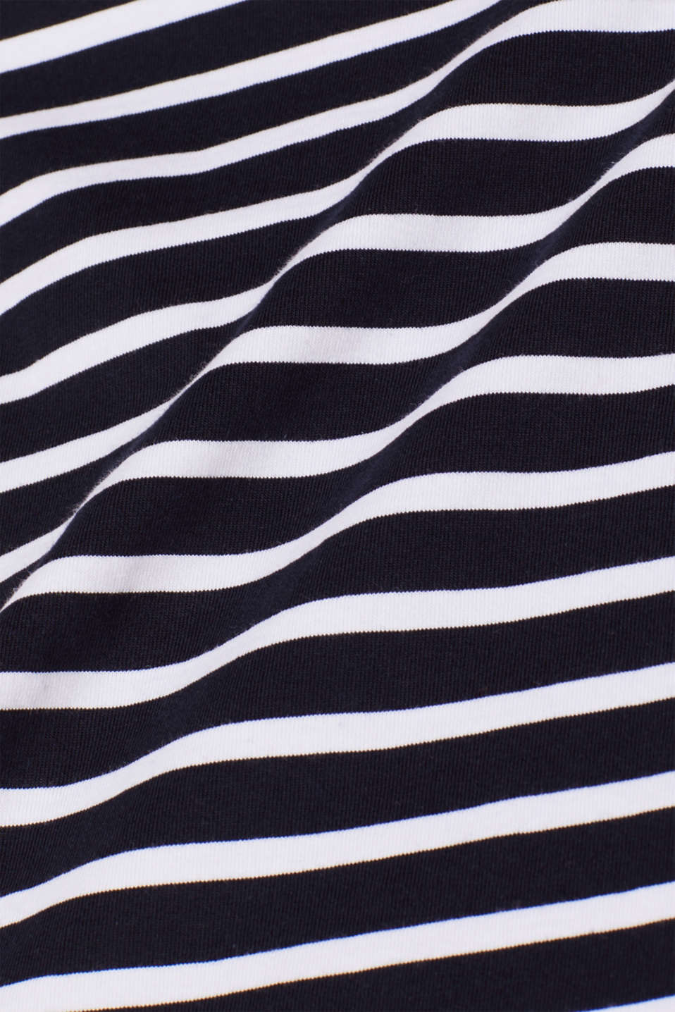 Jersey T-shirt with stripes, 100% cotton, NAVY 2, detail image number 4