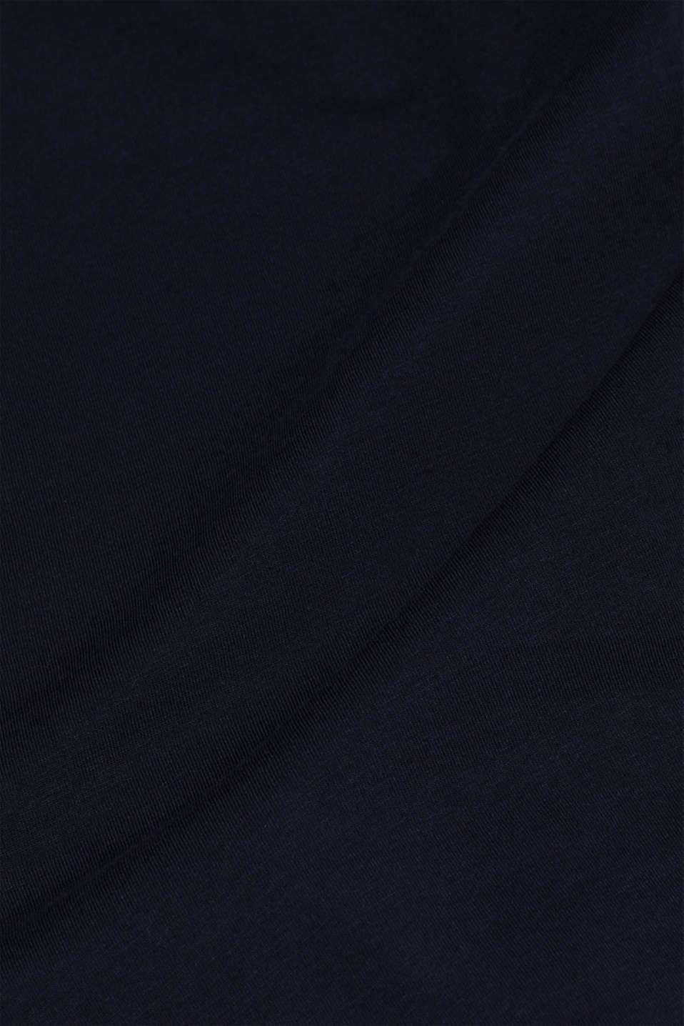 Jersey logo T-shirt, 100% cotton, NAVY, detail image number 5