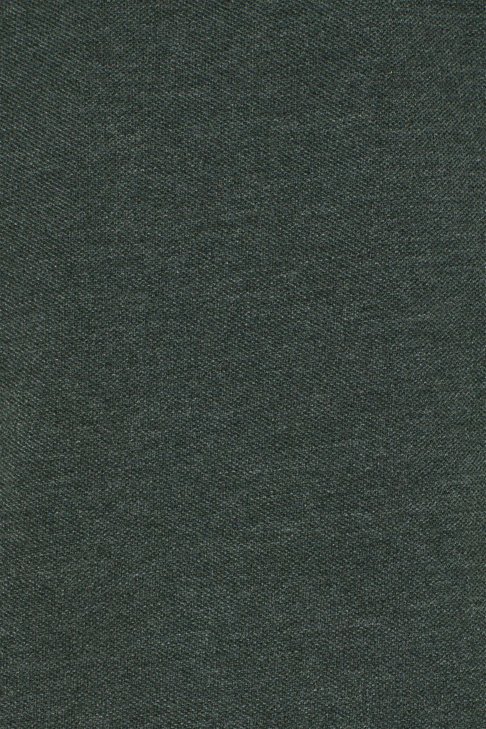 Piqué polo shirt in blended cotton, DARK GREEN, detail image number 4