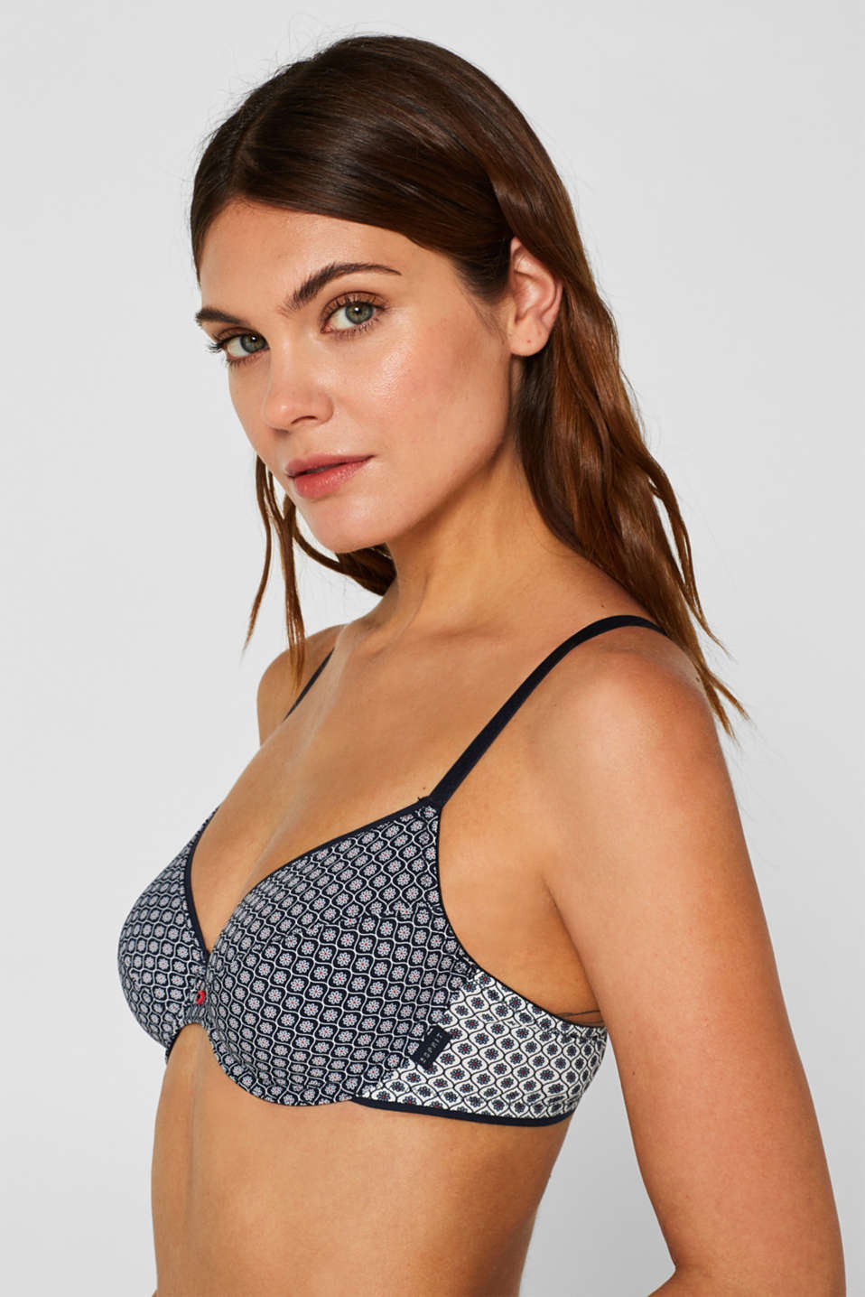 Esprit - Non-padded underwire bra with multiway straps