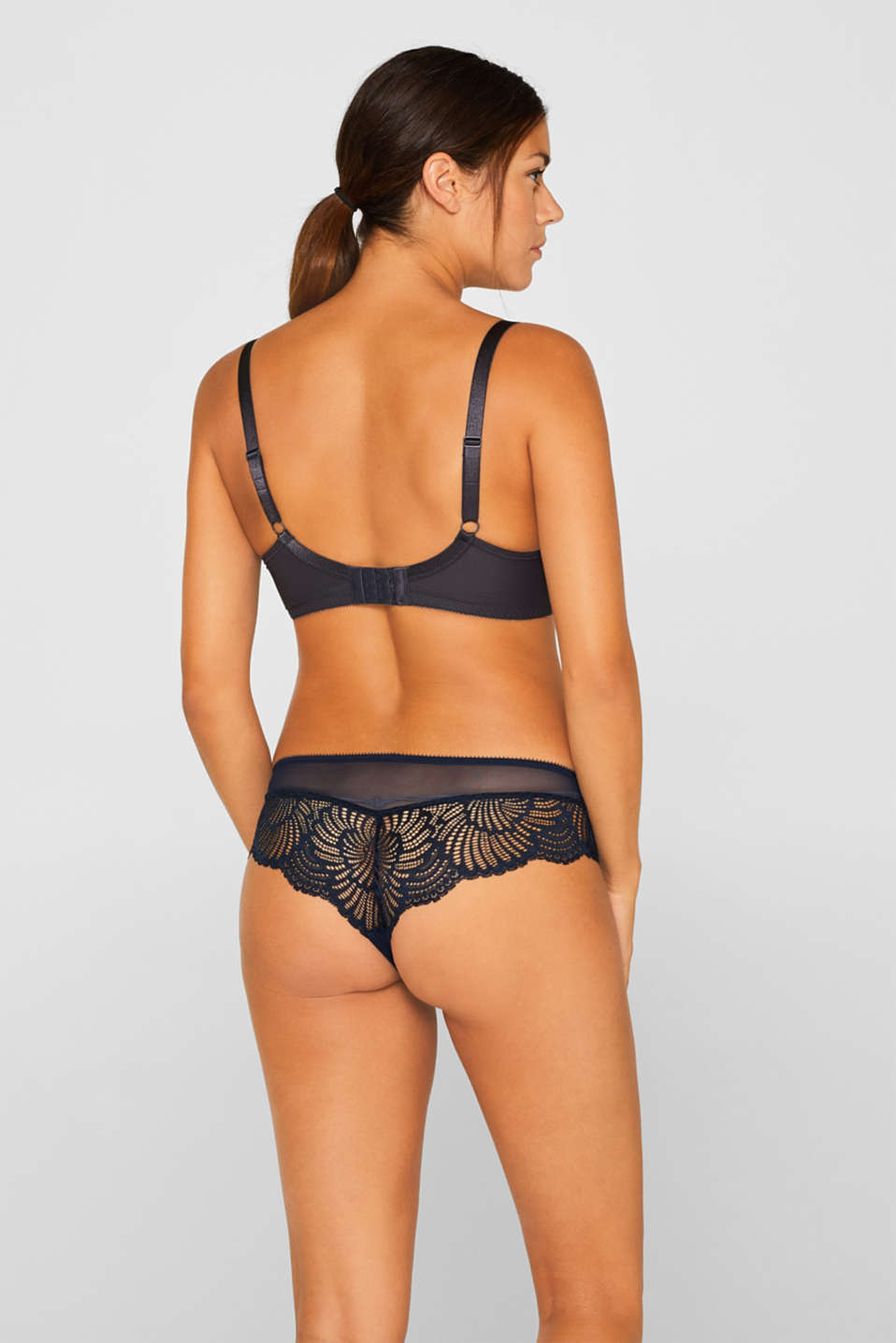 Bras with wire, ANTHRACITE, detail image number 1