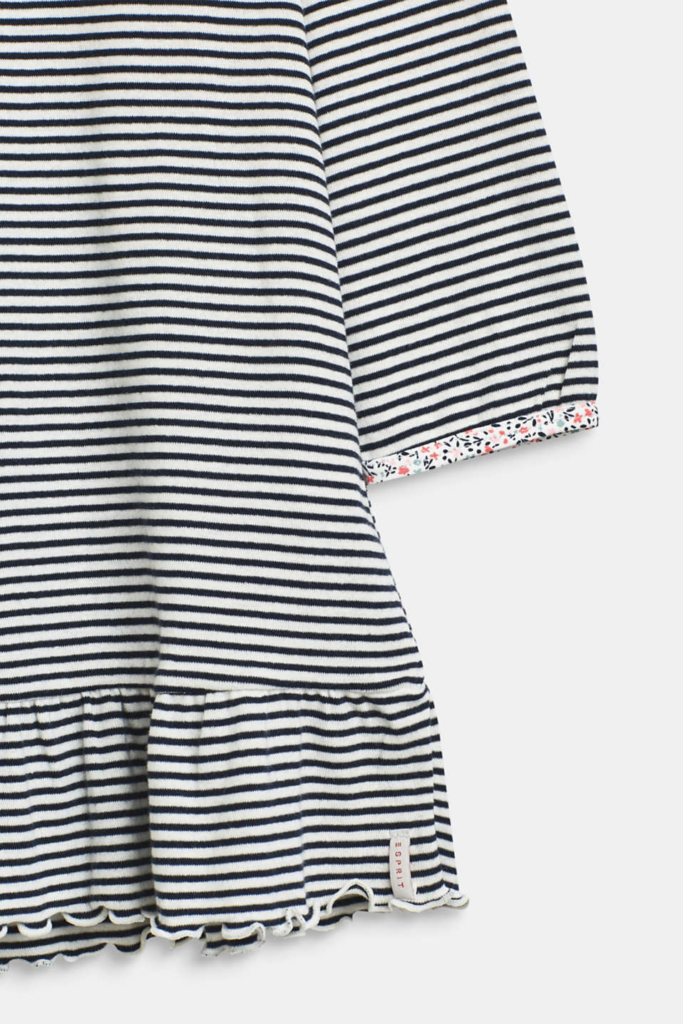 Jersey nightshirt with a print, 100% cotton, OFF WHITE, detail image number 3