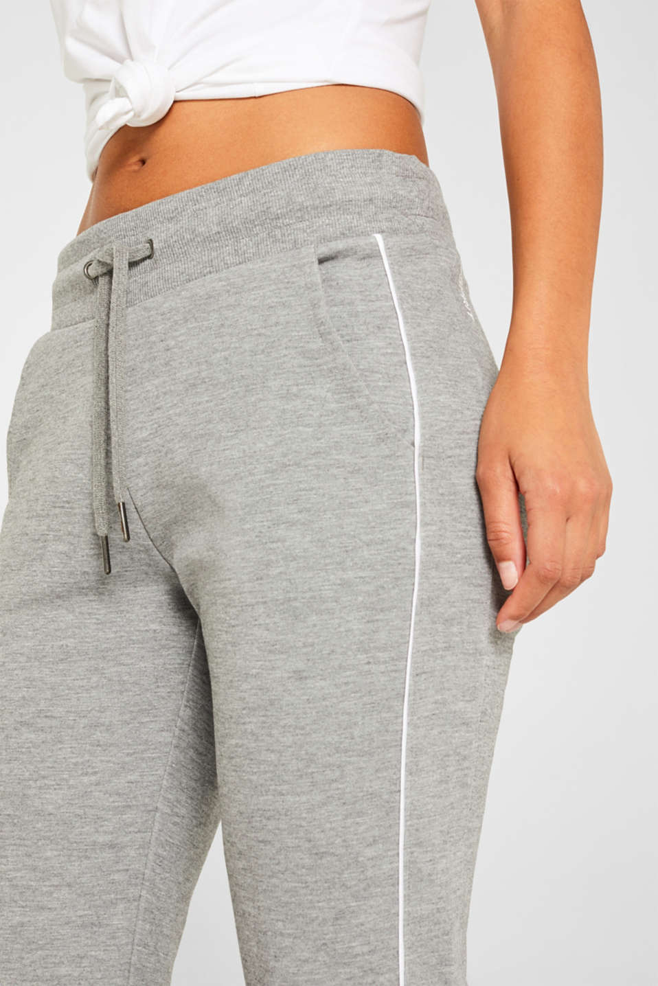 Pants knitted, MEDIUM GREY 2, detail image number 2