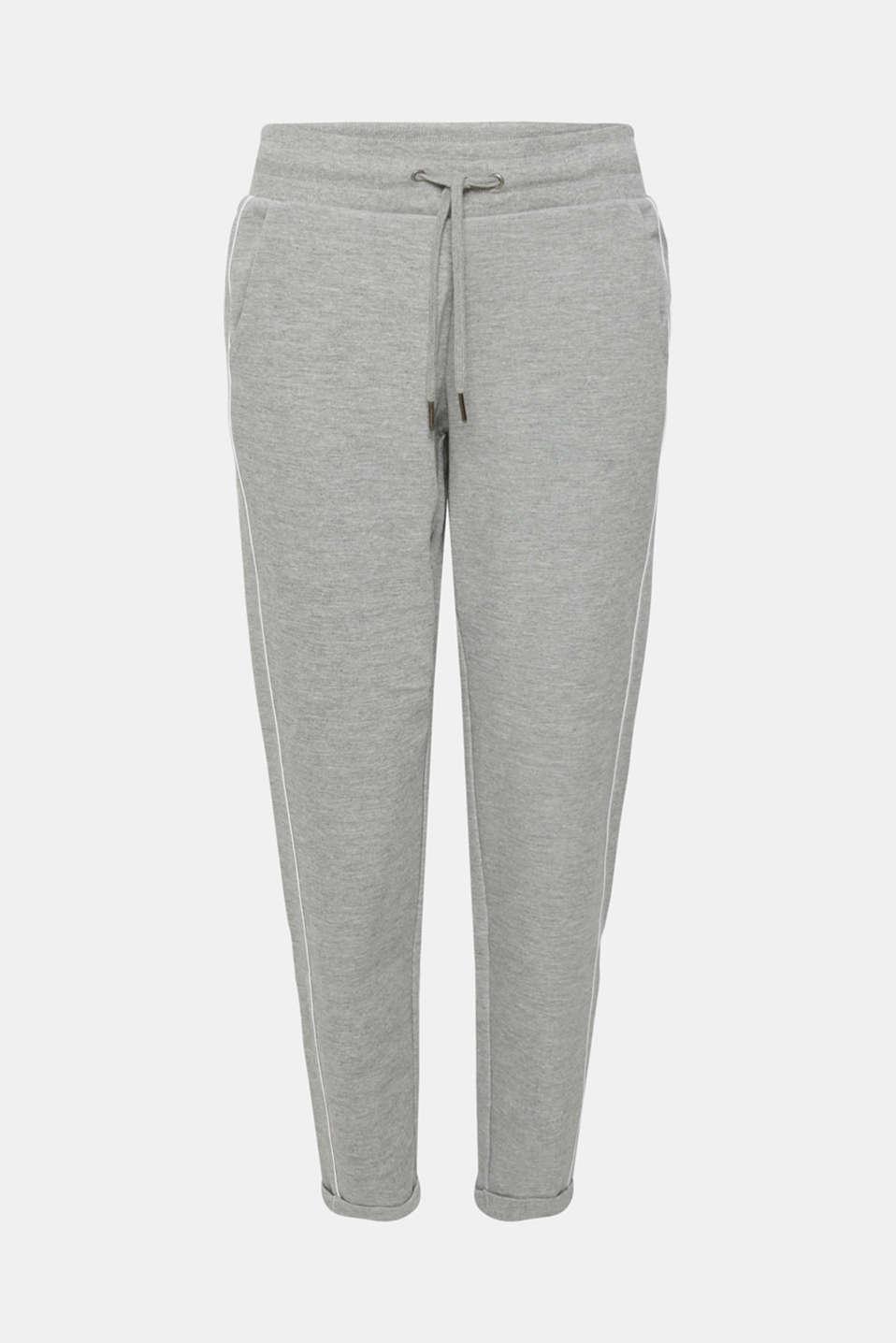 Pants knitted, MEDIUM GREY 2, detail image number 7