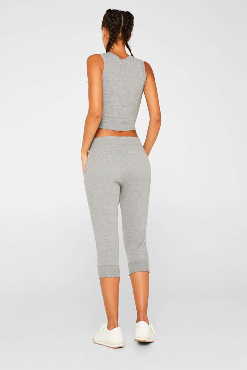 Pants knitted, MEDIUM GREY 2, detail image number 3