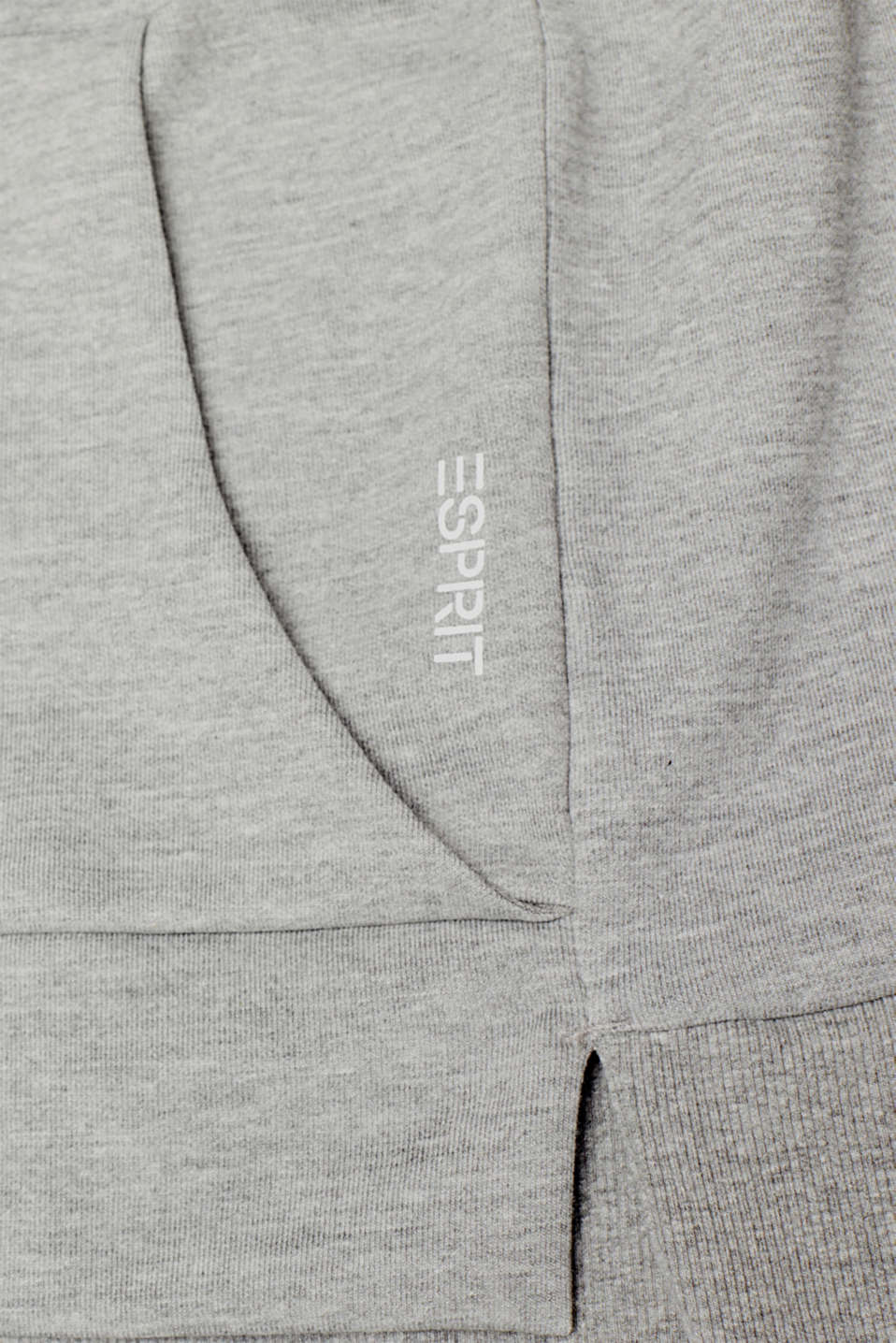Sweatshirts cardigan, MEDIUM GREY 2, detail image number 4