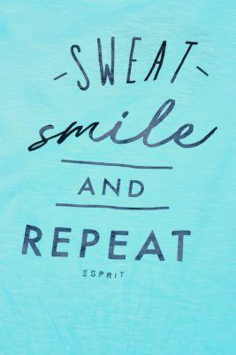 100% cotton slub T-shirt with a statement print