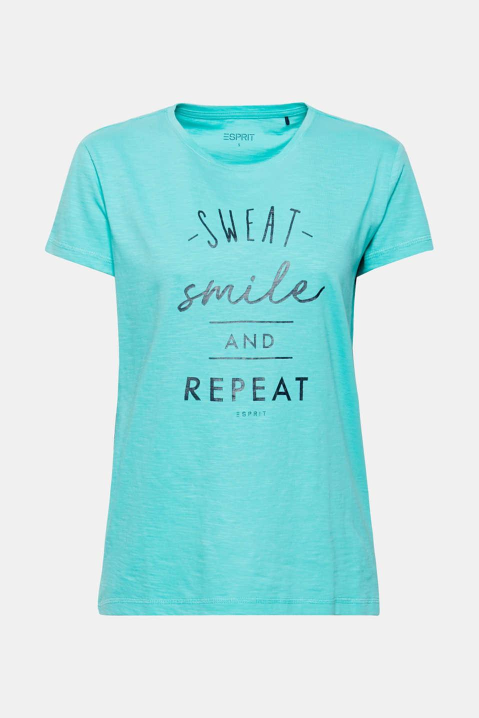 T-Shirts, AQUA GREEN, detail image number 5