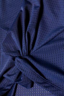 Draped mesh top, E-DRY
