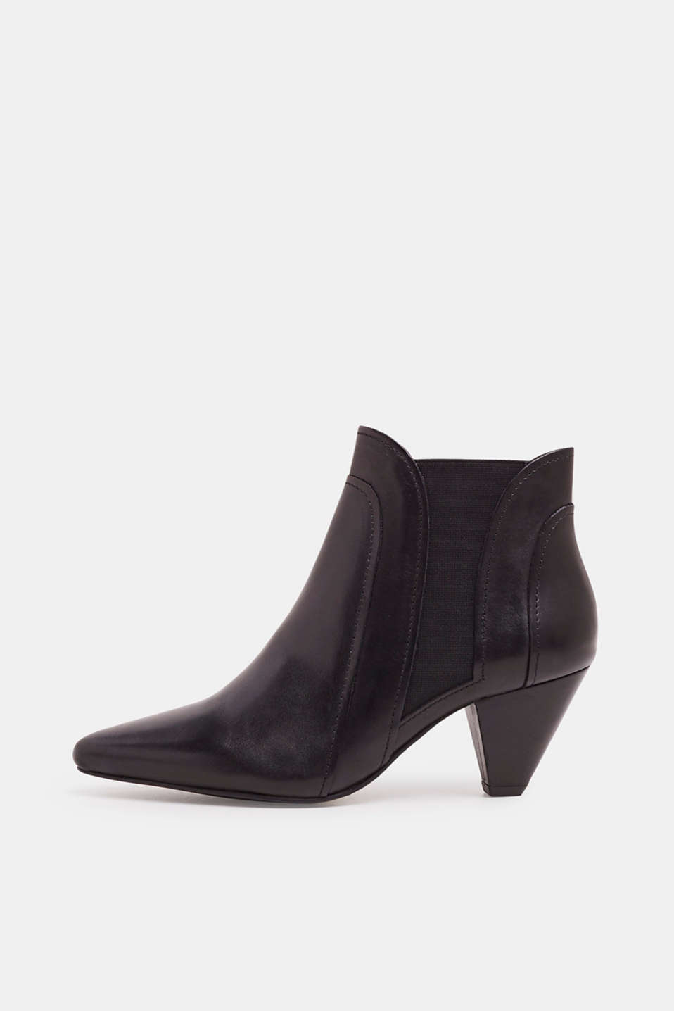 Esprit - Leather ankle boots