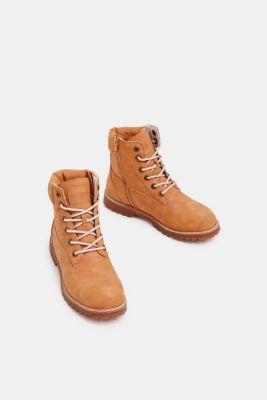 huge discount 50c57 6df7a Esprit - Faux leather lace-up boots at our Online Shop