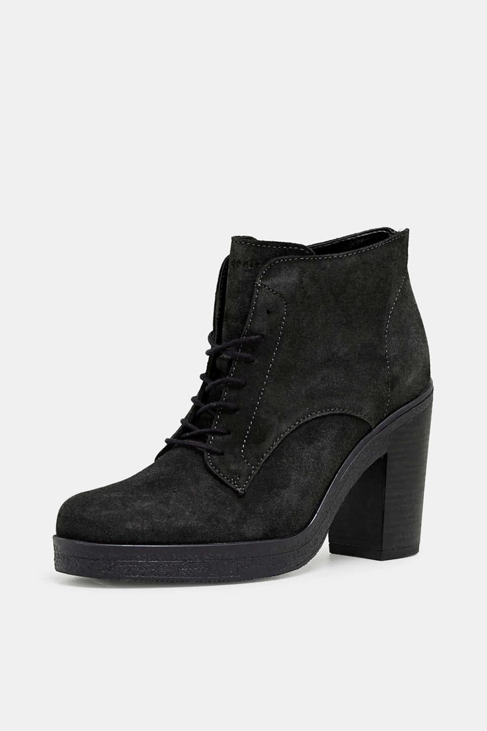 Formal Shoes leather, BLACK, detail image number 2