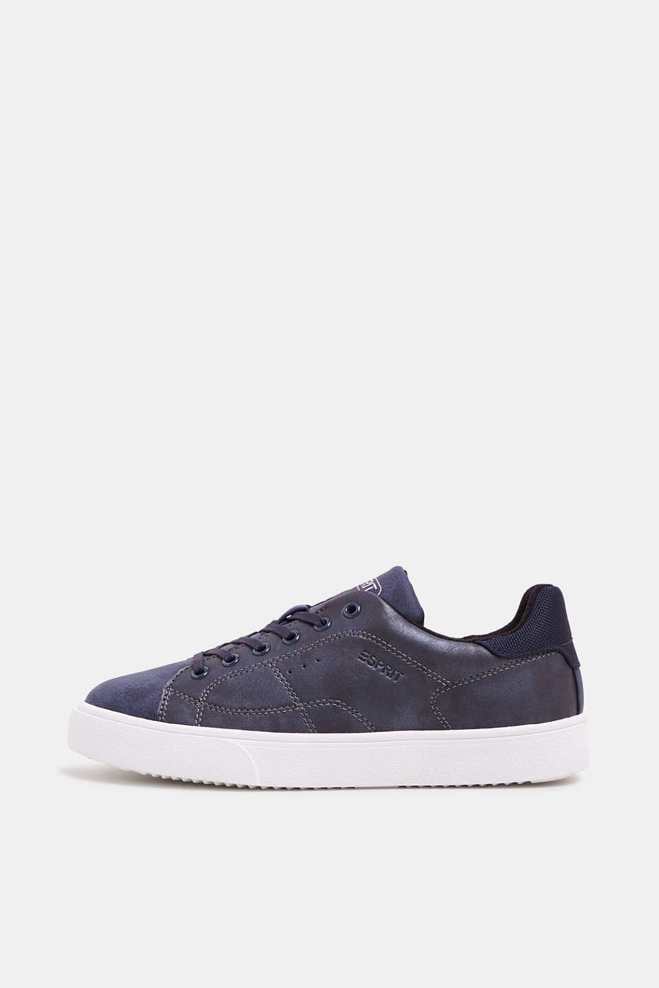 Esprit - Sneaker in veganer Leder-Optik