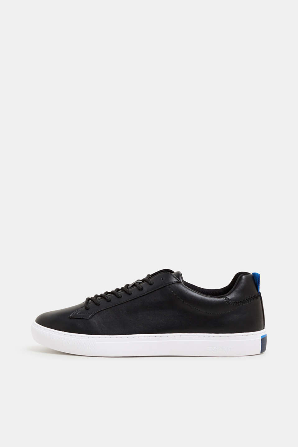 Trainers in vegan faux leather
