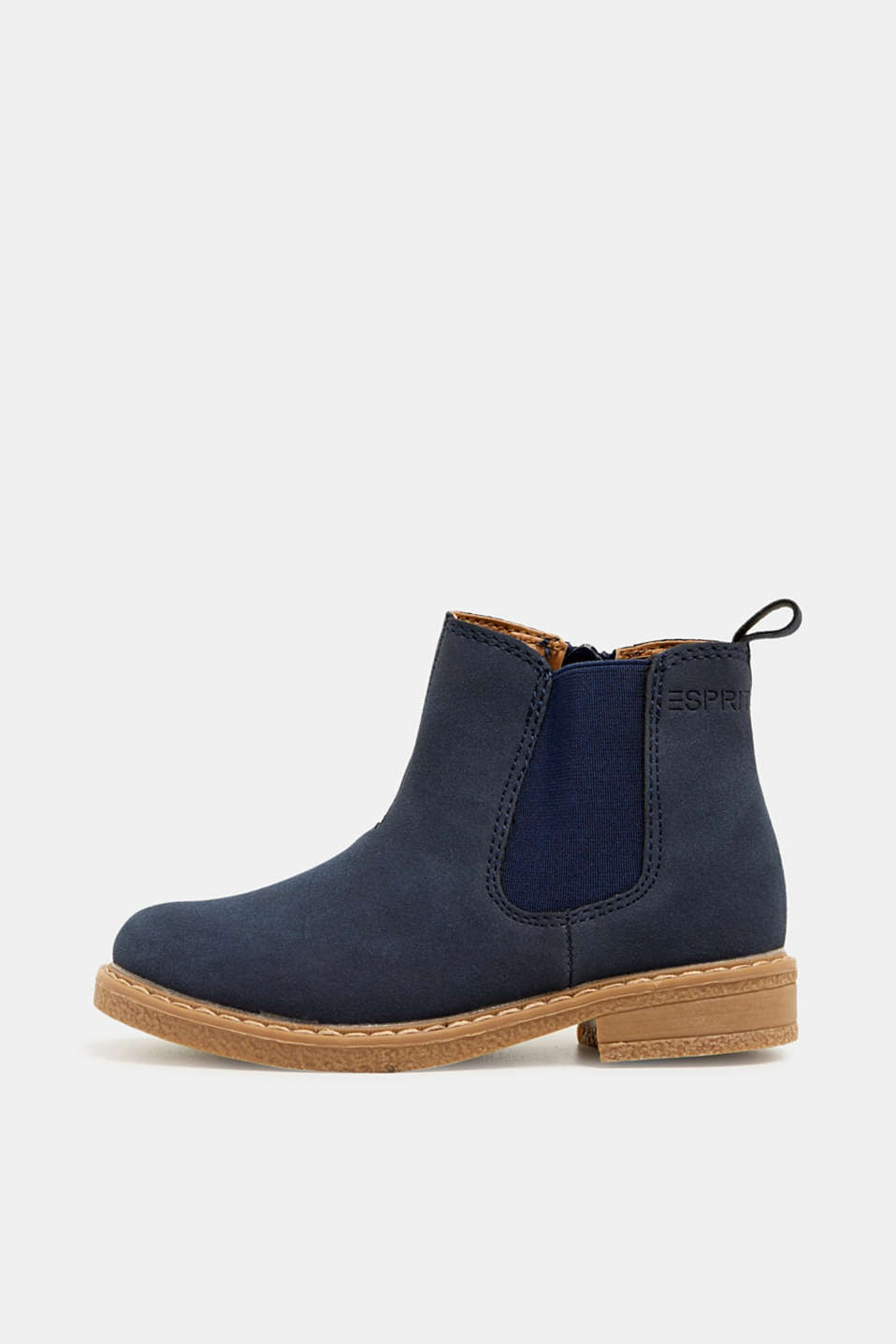 Esprit - Bottines d'aspect cuir velours