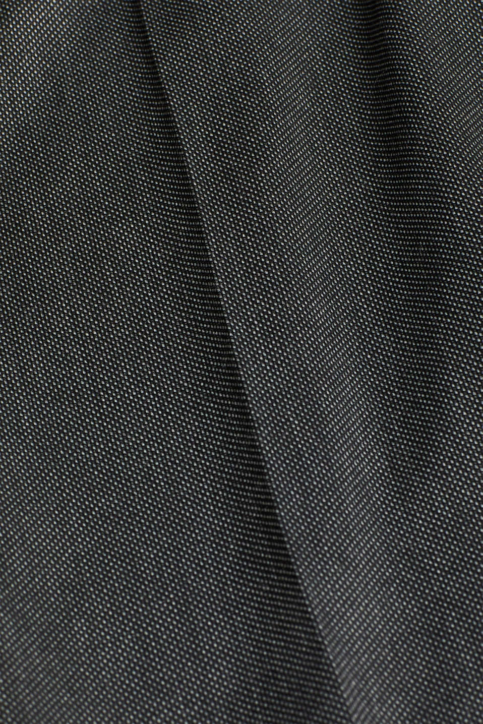 SALT'N PEPPER Mix + Match stretch trousers, ANTHRACITE, detail image number 4