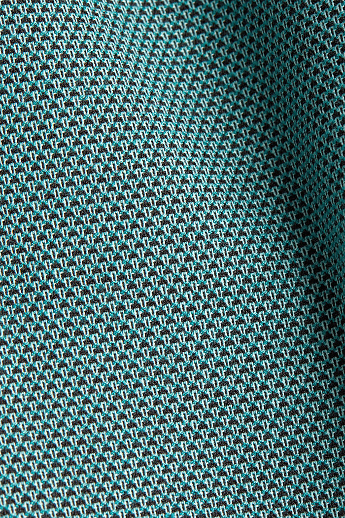 Hose mit Jacquard-Muster, DUSTY GREEN, detail image number 4