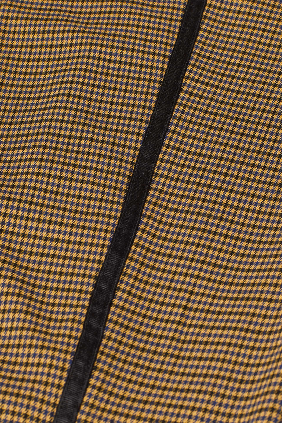 Stretch trousers with a houndstooth pattern and racing stripes, BARK, detail image number 4