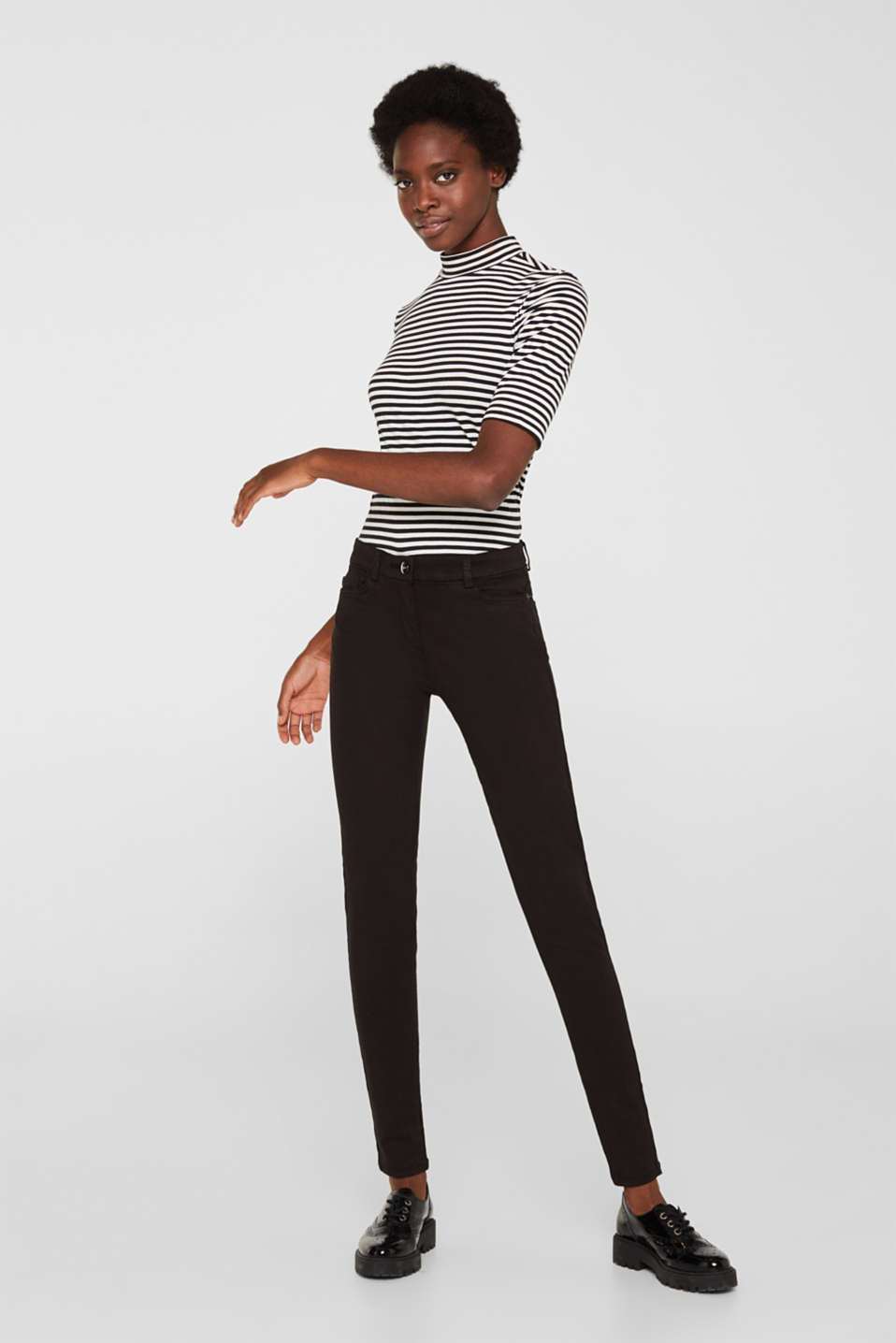 Esprit - Shaping jeans met 4-way-stretch