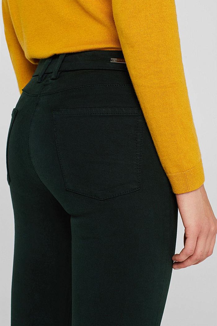 Shaping trousers with 4-way stretch, FOREST, detail image number 2