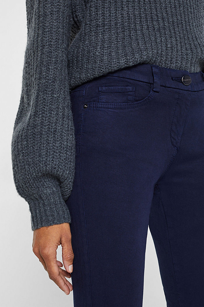 Shaping trousers with 4-way stretch, NAVY, detail image number 2