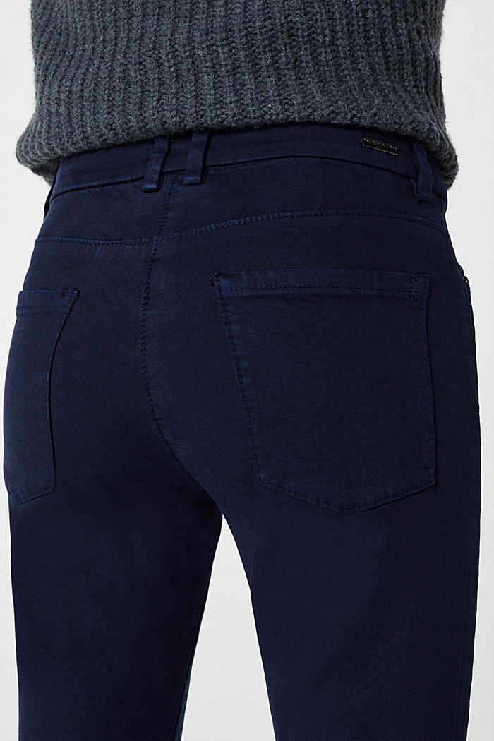 Shaping trousers with 4-way stretch, NAVY, detail image number 5