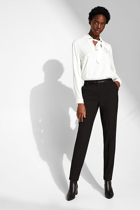 PURE BUSINESS Mix + Match stretch trousers