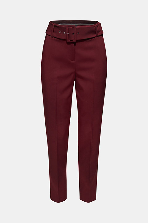 Stretch trousers in a chino style