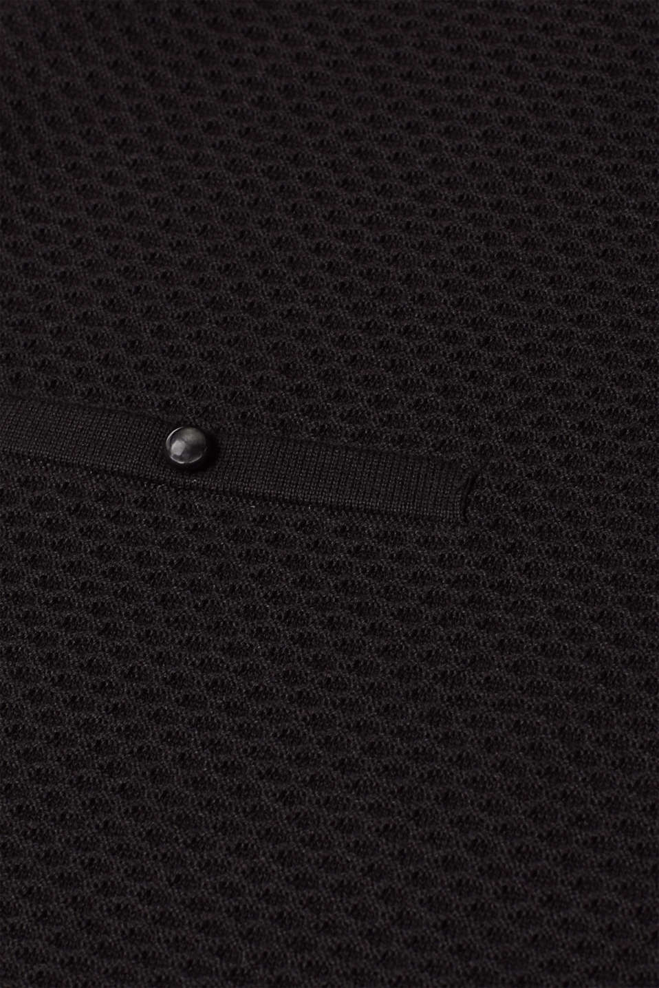 Dresses flat knitted, BLACK, detail image number 4