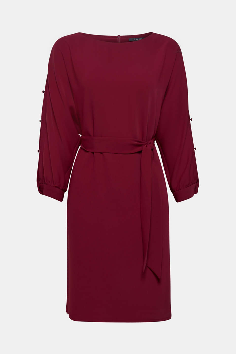 Dresses light woven, GARNET RED, detail image number 6