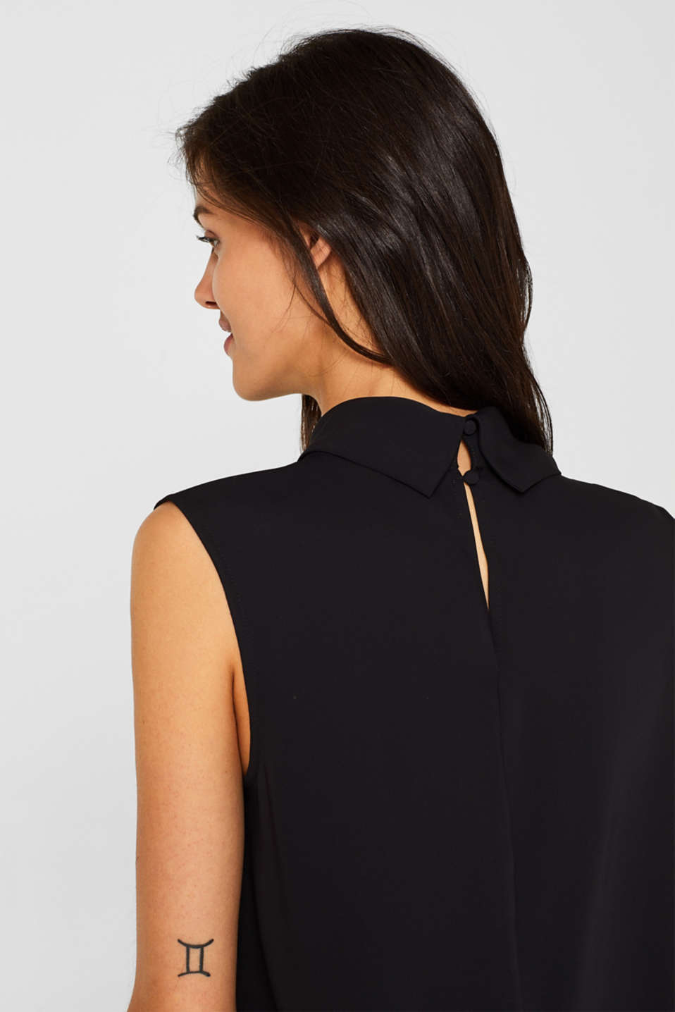 Blouses woven, BLACK, detail image number 6