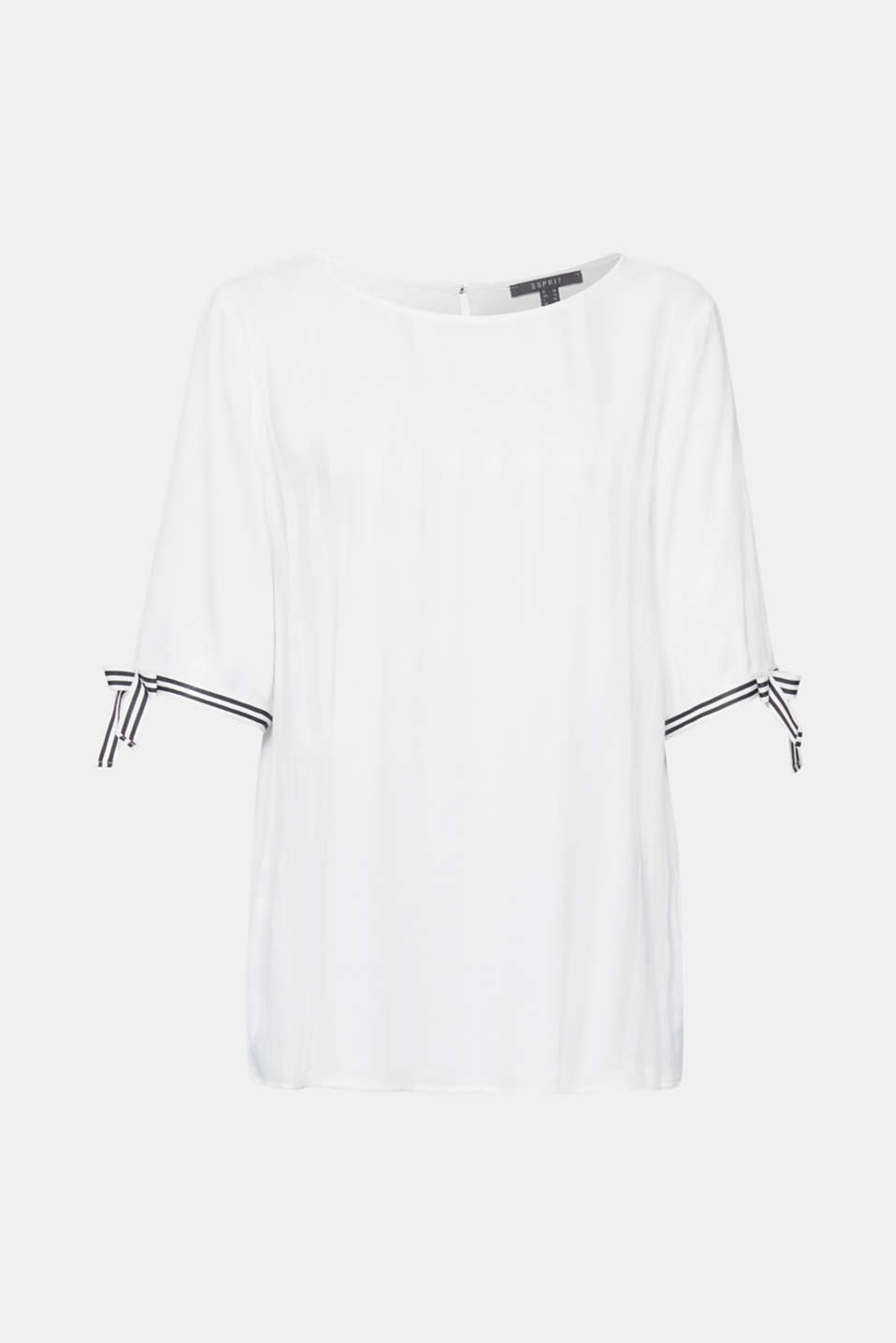 Blouses woven, OFF WHITE, detail image number 7