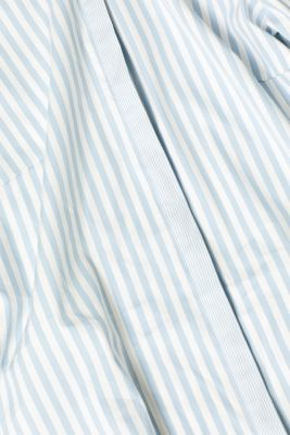 Stretch blouse with a striped pattern, LIGHT BLUE, detail