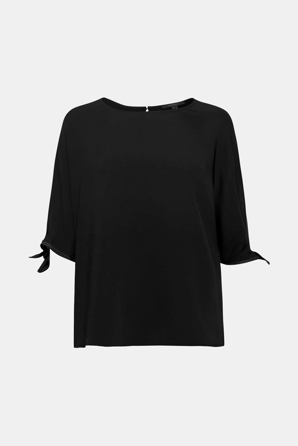 Esprit - Blouse top in a layered look