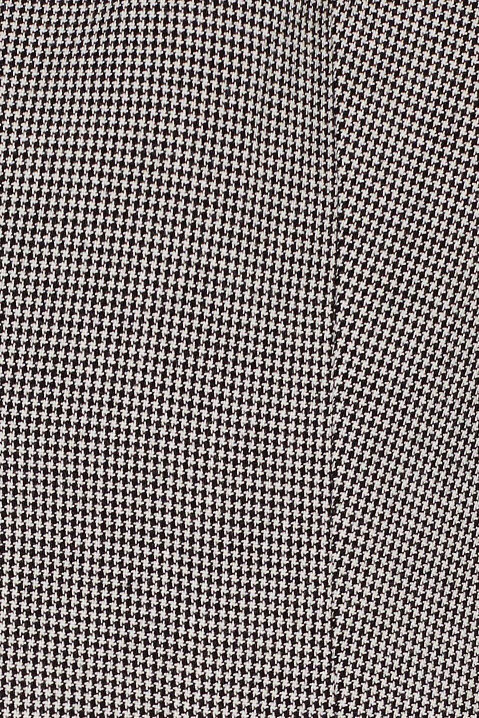 Blazer with houndstooth pattern, BLACK, detail image number 4
