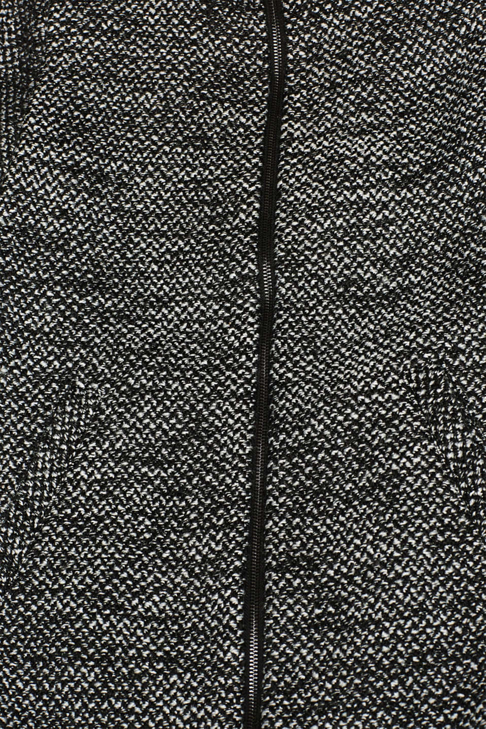 Made of blended wool: Coat with a stand-up collar, BLACK, detail image number 4