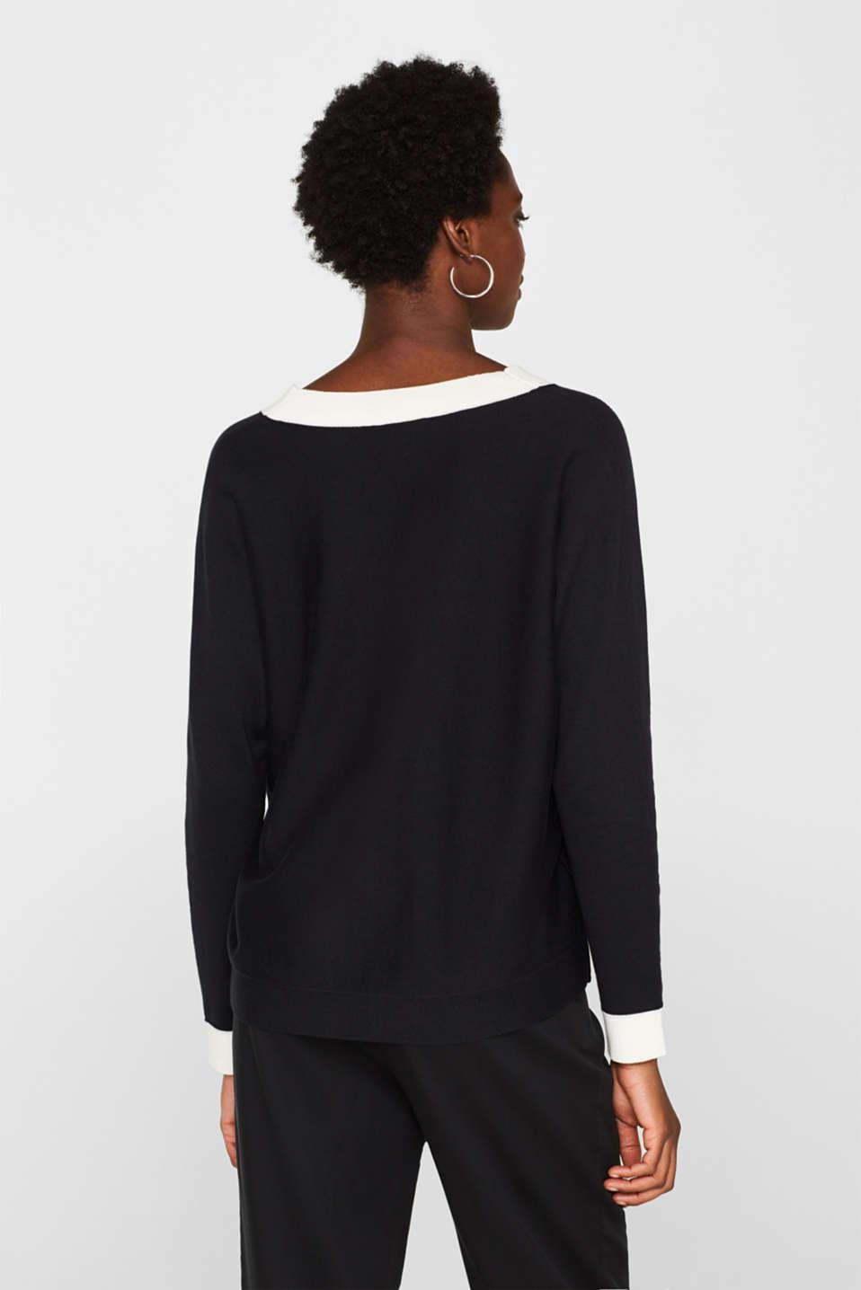 Sweaters, BLACK 2, detail image number 3