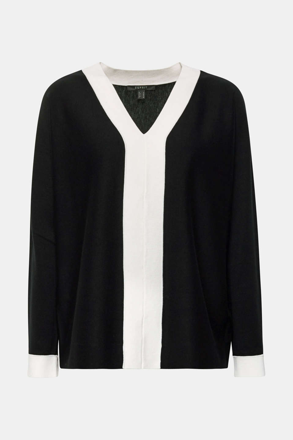 Sweaters, BLACK 2, detail image number 6