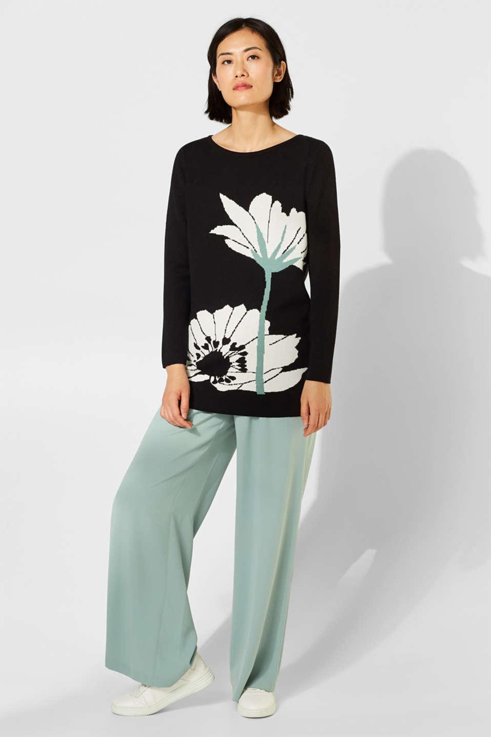 Sweaters, BLACK 2, detail image number 1