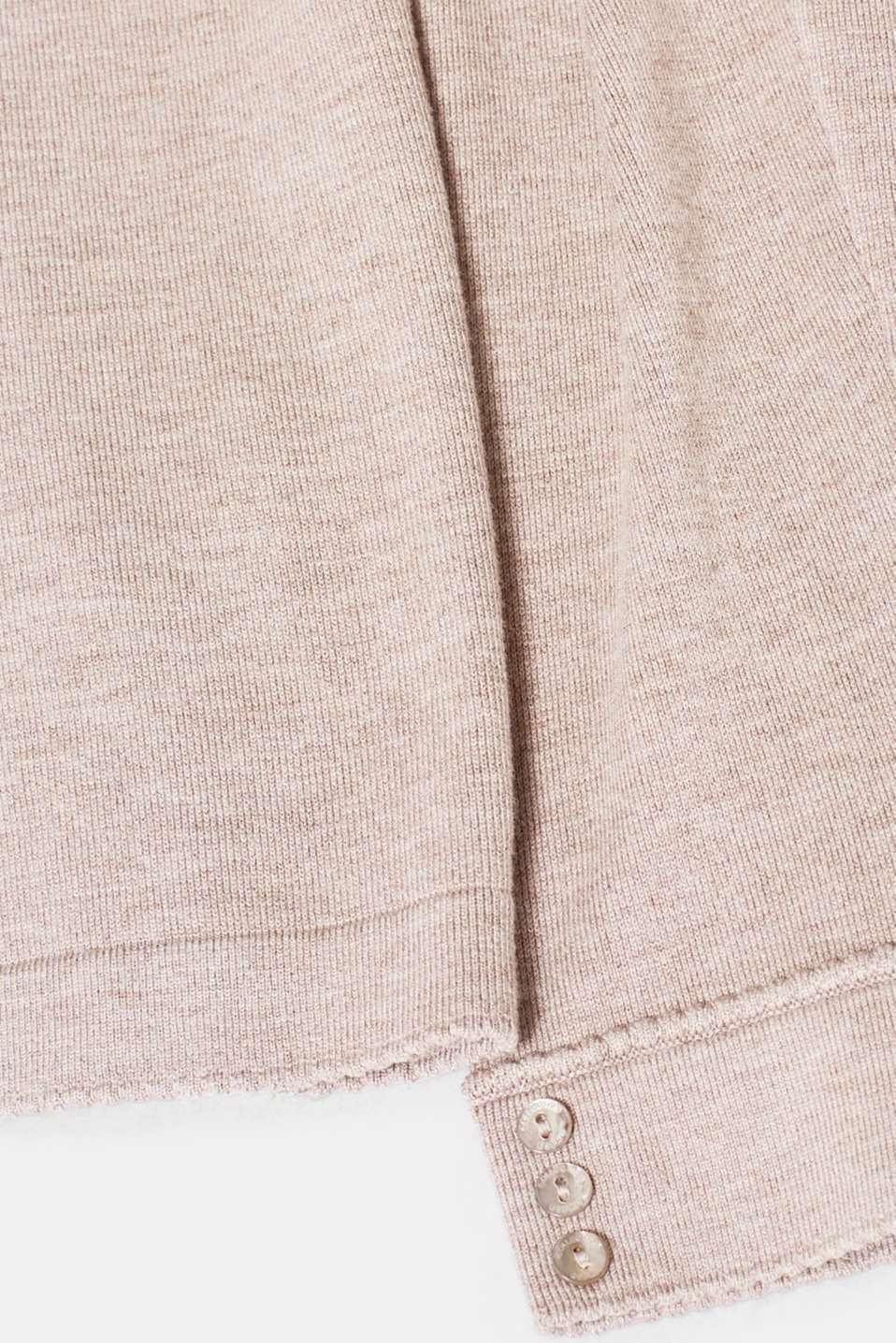 Jumper containing LENZING™ ECOVERO™, LIGHT TAUPE 5, detail image number 4
