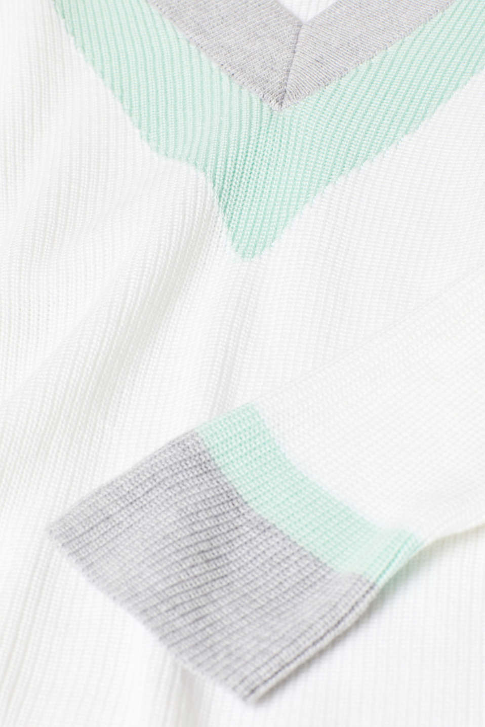 Sweaters, OFF WHITE, detail image number 4
