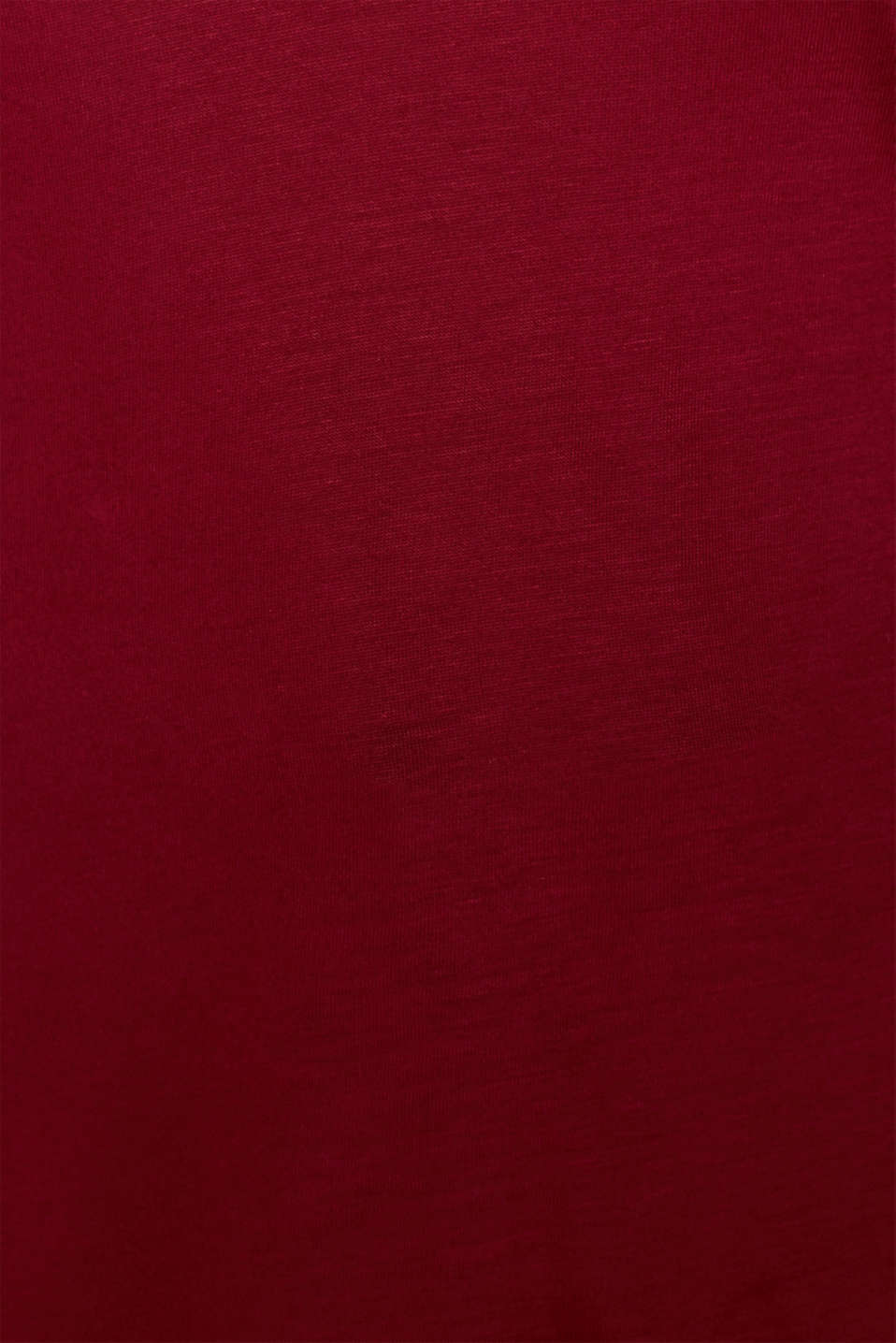 T-Shirts, GARNET RED, detail image number 4