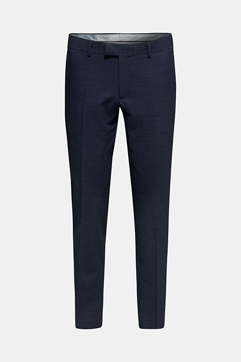 DOT mix + match: suit trousers with wool