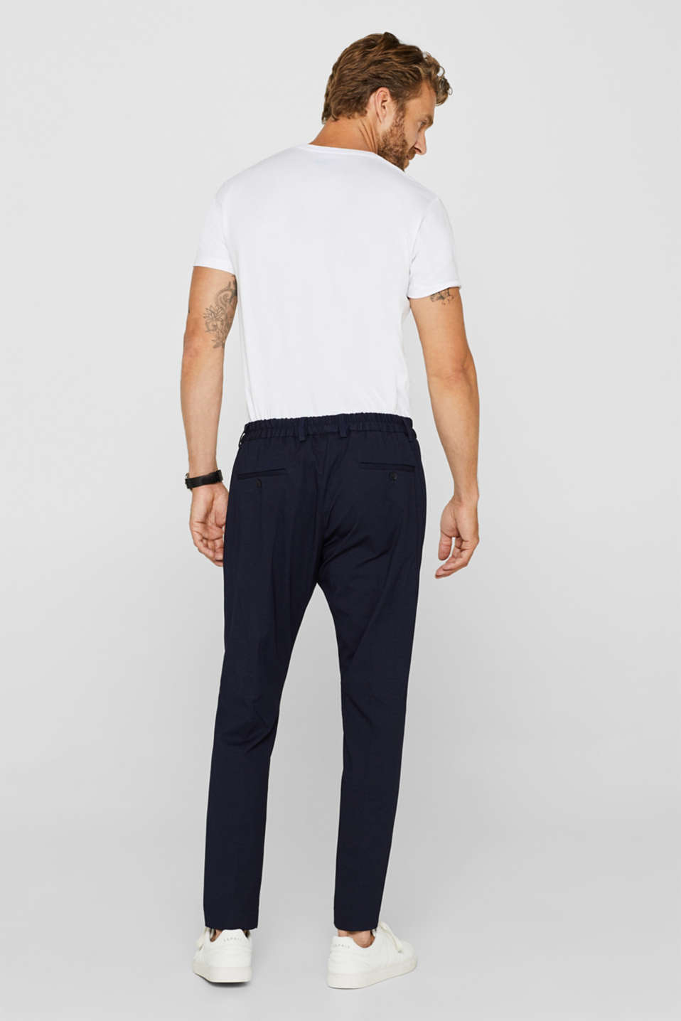 Pants suit, NAVY, detail image number 1