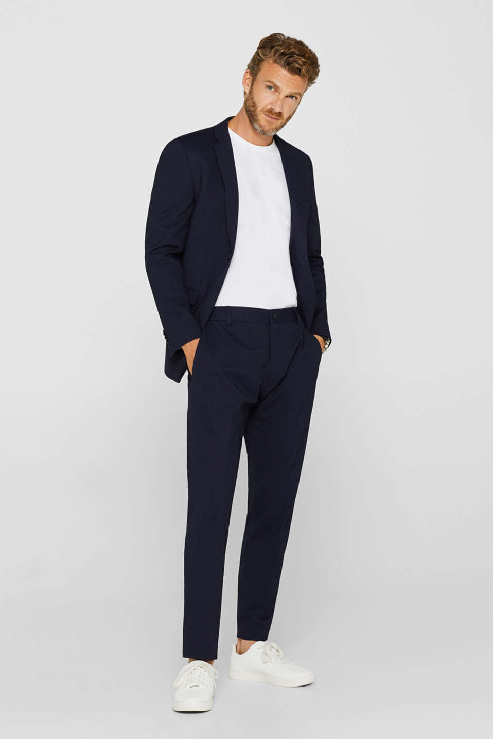 Pants suit, NAVY, detail image number 2