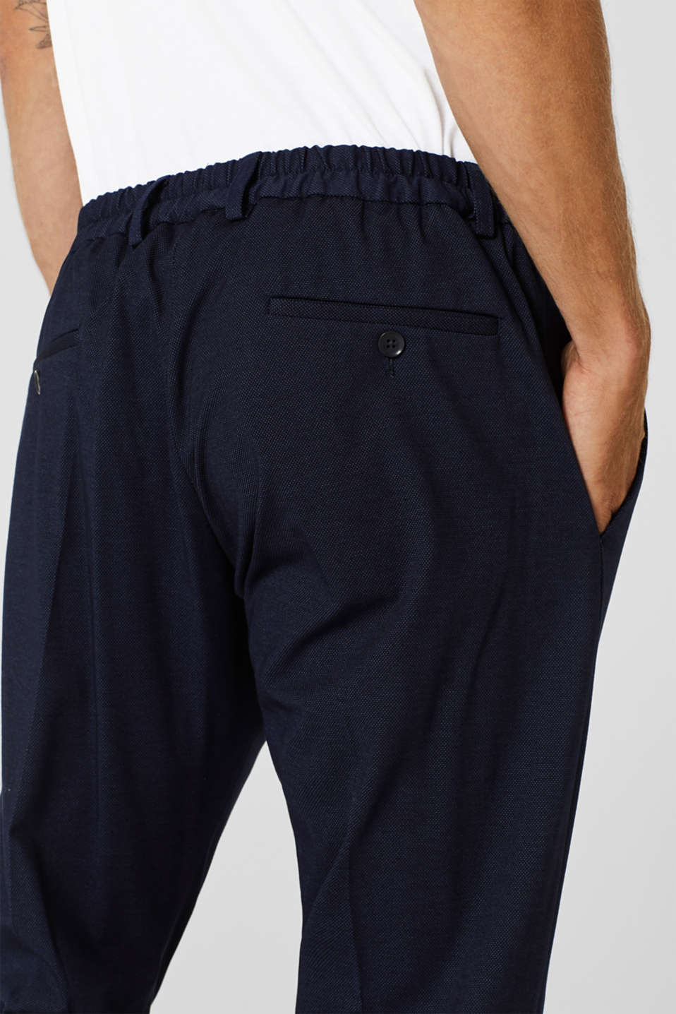 Pants suit, NAVY, detail image number 3