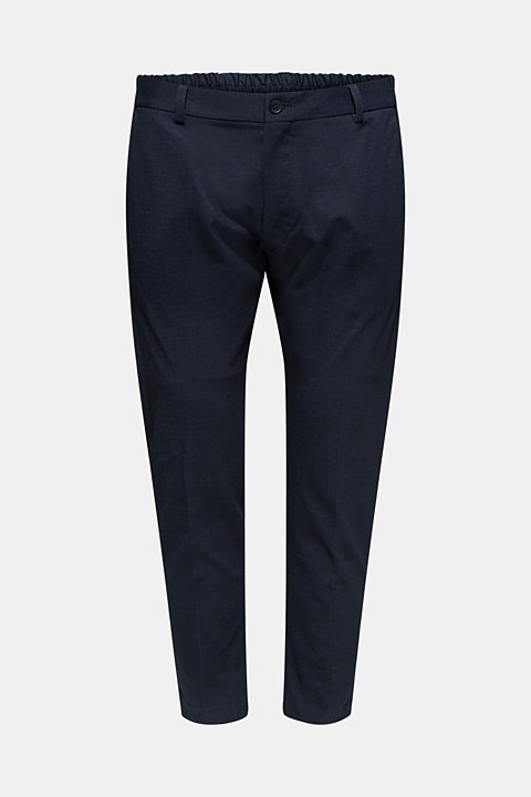 COMFORT SUIT mix + match: textured trousers