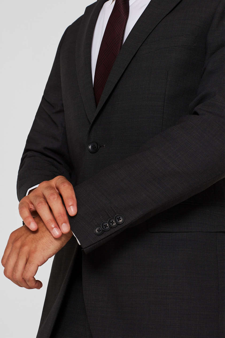Blazers suit, ANTHRACITE, detail image number 2