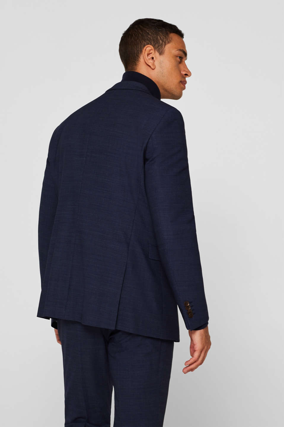 Blazers suit, NAVY, detail image number 3