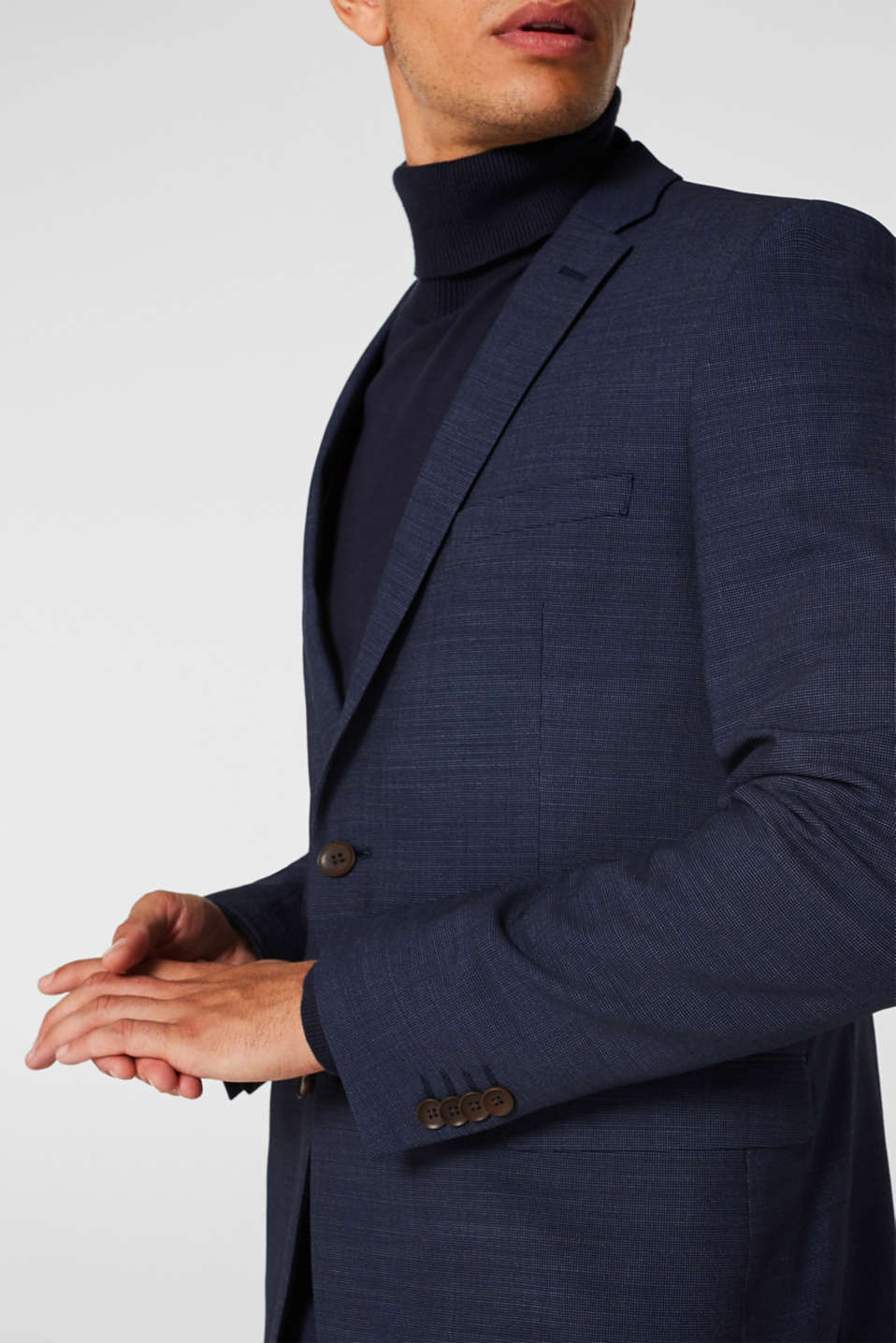 Blazers suit, NAVY, detail image number 5